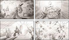 Sky saga Video Game Storyboard Illustration - Search similar styles, portfolios and artists on the illustration agent website. Illustration Story, Fantasy Illustration, Character Illustration, Game 2d, Milk Splash, Fantasy Films, 3d Animation, Storyboard, Animated Gif