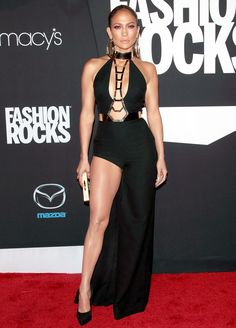 Jennifer Lopez at Fashion Rocks 2014 at Barclays Center on Sept. 9
