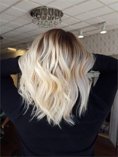 MAKEOVER: Banded and Brassy To Stunning Blonde Melt - Hair Color - Modern Salon
