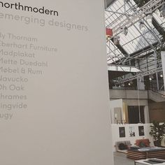 Visit us at Northmodern E nord 013 and chill out in THE M #northmodern2016 #northmodern #furniture #bythornam #interiordesign #slowliving #chill #lounge #daybed #headboard #shapeityourway