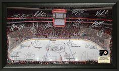 AAA Sports Memorabilia LLC - Philadelphia Flyers Signature Rink, $49.99 (http://www.aaasportsmemorabilia.com/nhl/philadelphia-flyers-signature-rink/)