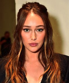 Alycia Debnam Carey attends the Dion Lee fashion show during New York Fashion Week: The Shows at Gallery 2, Skylight Clarkson Sq on September 9, 2017 in New York City. (x)