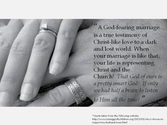 So this is LOVE...and marriage ~ Godly Marriage