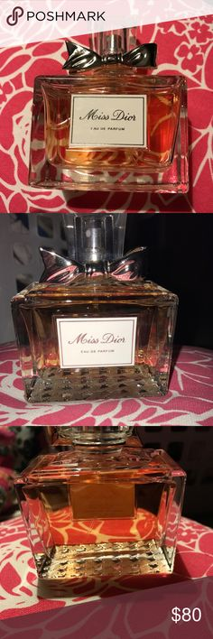 Miss dior eau de parfum Only sprayed it twice and is now just sitting on my dresser! Dior Makeup