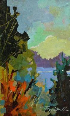 """Looking Across"" - Original Fine Art for Sale - © Brian Buckrell"