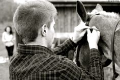 Saddle up your horse.