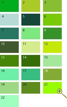Green shades for spring Bright Spring, Warm Spring, Spring Colors, Color Type, Green Colors, Colours, Seasonal Color Analysis, Green Palette, Vash