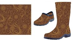 Horse and Barn Boot Print Design! by QPR
