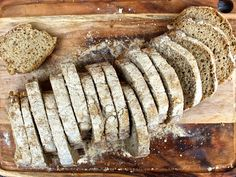 Sugar Free Baking, Gluten Free Baking, Gluten Free Recipes, Raw Food Recipes, Bread Recipes, Bread Baking, Lchf, Free Food, Dairy Free