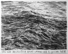 Rinus Van de Velde Untitled (You Are Absolutely Right) (2009) charcoal on paper