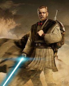 Obi-Wan post-Clone Wars.