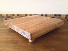 Handmade Oak Cutting Board by MyLivingDesigns on Etsy, $56.00