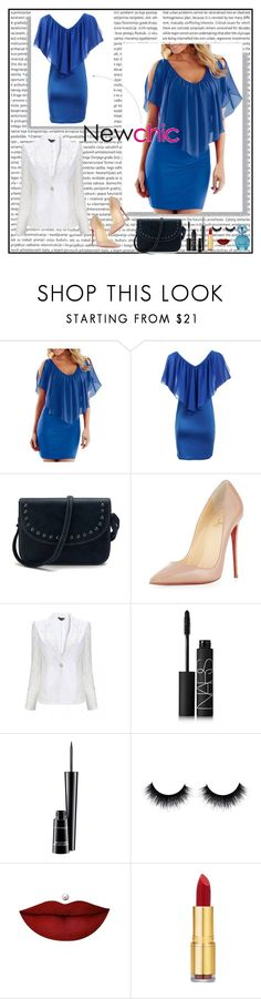 """""""Lovenewchic 30/30"""" by mell-2405 ❤ liked on Polyvore featuring Retrò, Christian Louboutin, NARS Cosmetics, MAC Cosmetics, Anastasia Beverly Hills, Isaac Mizrahi, Marc Jacobs and lovenewchic"""