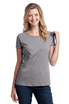 Fruit of the Loom® Ladies HD Cotton™ 100% Cotton T-Shirt. L3930