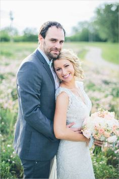 rustic bride and groom wedding. I love this wedding, so simple and elegant.