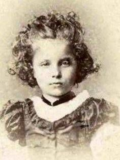 Princess Elisabeth of Hesse and by Rhine as a child in 1864.