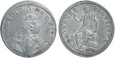 NumisBids: Nomisma Spa Auction 50, Lot 89 : FIRENZE Cosimo III (1670-1723) Testone 1676 – CNI 15/19; R.M. 8 AG...