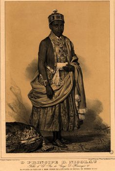 Dom Nicolau, prince of Kongo (c. 1830-1860) is perhaps the earliest African leader who wrote publicly to protest colonial influences.