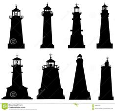 Lighthouse Silhouette Clipart
