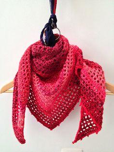 Country Cotton Shawl: free pattern