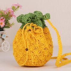 Resultado de imagen para piñas fruta de crochet