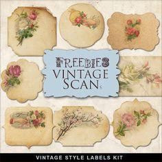 Freebies Labels Kit
