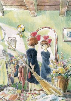 The Art of Kiki's Delivery Service.