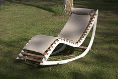 CAPRICE.12 Alessandro S. Rocking chaise longue Capriceone.it #design #madeinitaly #artigianato #handcraft #wood
