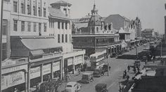 Busy Church Street Pretoria Lest We Forget, Pretoria, Back In The Day, All Over The World, South Africa, Countries, Beautiful Places, Southern, Trees