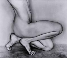 Nude #62N (Dancer's Knees) by Edward Weston (1886-1958, USA)