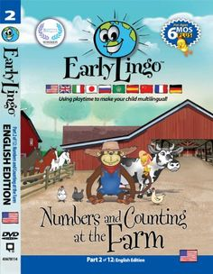 Early Lingo Numbers and Counting at The Farm DVD (Part 2 English) >>> Want to know more, click on the image.