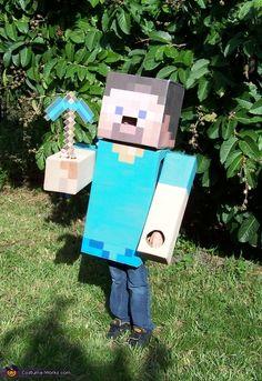 Steve from Minecraft Costume