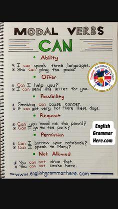 Teaching English Grammar, English Writing Skills, English Language Learning, Teaching Writing, English Lessons, French Language, Learning Spanish, Vocabulary Practice, Grammar And Vocabulary