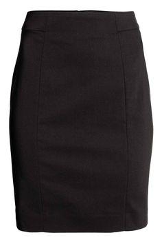 Lyhyt hame - Musta - Ladies | H&M FI