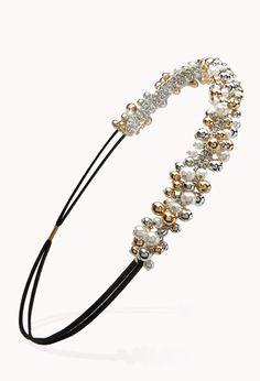 Festive Beaded Headband | FOREVER21 - 1000063263