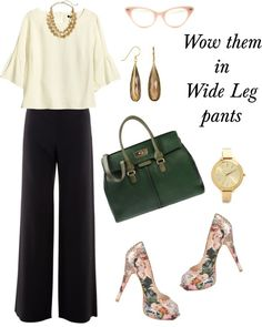 Wide Leg Pants for Spring