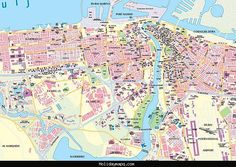 What to See in Montreal Montreal attractions Tourist map and Quebec