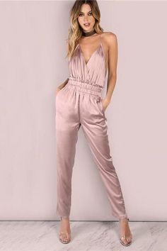 662e7b1e450b Black Jumpsuit With Sleeves