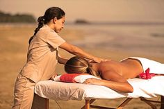 Get your beach massage!  On the outskirts of the charismatic coastal village of Puerto Viejo, Le Caméléon is the only upscale lodging to be found in this remote area of Costa Rica.  http://www.lecameleonhotel.com/