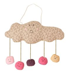 Look at this Pink Cloud Mobile on #zulily today!