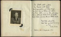 "Post by @yadvashem ""Love life and dont be afraid of death. Believe in God and a better future"". This inscription was written in Ester Goldsteins album on 15 September 1942 by her 16-year-old classmate Bella Lassore. Ester Goldstein lived in Berlin with her parents sister and brother. On 26 October 1942 Ester was sent to Riga and on 12 January 1943 Bella was deported to Auschwitz. Both girls were murdered. The album along with other family documents was given to Yad Vashem by Esters sister…"
