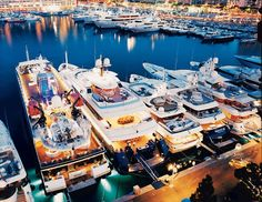Monte Carlo's Port Hercules didn't get its name by accident. With a capacity of 550 vessels, some exceeding 500 feet, the port plays host to notable skiffs such as Paul Allen's 301-foot Tatoosh.