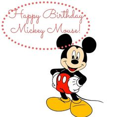 Happy Birthday Mickey Mouse!  I have loved you forever and always will.  #mickeymouse #mickey #mickeyears #mickeymousebirthday #birthday #celebrate #love #perfectman #lovethemouse #lovesofmylife