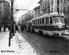 Statie tramvai; 1956