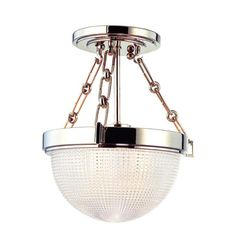 Winfield Semi Flush Ceiling Light by Hudson Valley Lighting