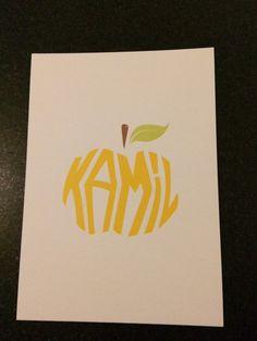 Het geboortekaartje van Kamil