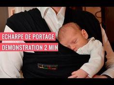Portage physiologique : bien porter son bébé en écharpe.