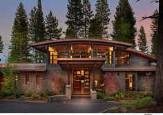 Rustique Façade by Ward-Young Architecture & Planning - Truckee, CA