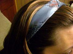 Necktie Headband Tutorial