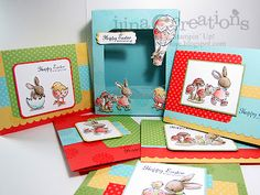 amazing how awesome it is when colored! a very cute set: everybunny